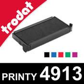 Cassette d'encrage pour Trodat Printy 4913