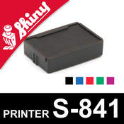 Cassette encrage Shiny Printer S-841