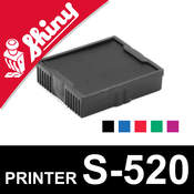 Cassette encrage Shiny Printer S-520