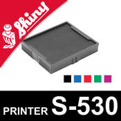 Cassette d'encrage pour Shiny Printer S-530