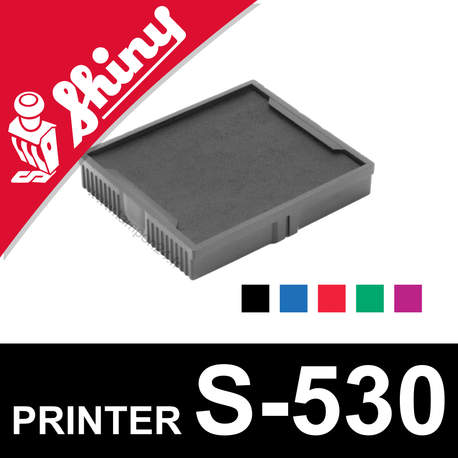 Cassette encrage Shiny Printer S-530