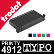 Cassette encrage Trodat Printy 4912 Typo