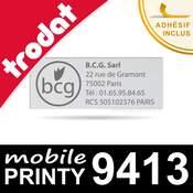 Empreinte pour Trodat Mobile Printy 9413