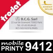 Empreinte Trodat Mobile Printy 9412