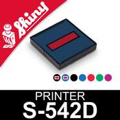 Cassette encrage Shiny Printer S-542D