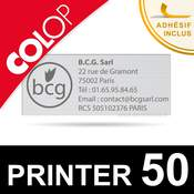 Empreinte pour Colop Printer 50