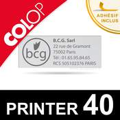 Empreinte pour Colop Printer 40
