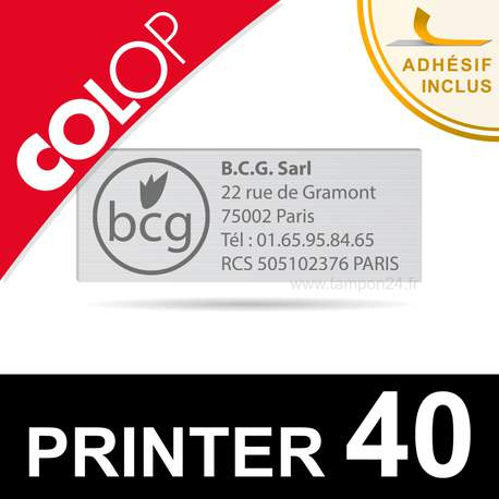 Empreinte Colop Printer 40