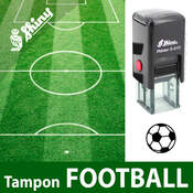 Tampon encreur ballon Football