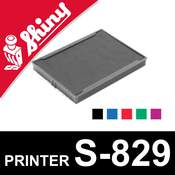 Cassette d'encrage pour Shiny Printer S-829