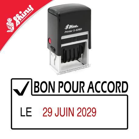 Tampon BON POUR ACCORD LE