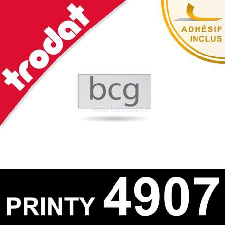 Empreinte pour Trodat Printy 4907 - Plaque de texte caoutchouc