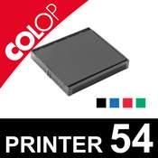 Cassette d'encrage pour tampon encreur Colop Printer 54