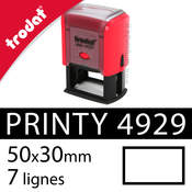 Tampon encreur Trodat Printy 4929 (50x30mm)