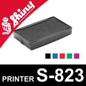 Cassette d'encrage pour Shiny Printer S-823