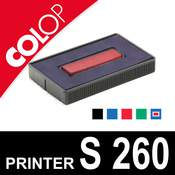 Cassette d'encrage pour dateur Colop Printer S 260