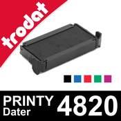 Cassette d'encrage pour cachet Trodat Printy Dater 4820