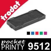 Cassette d'encrage pour Trodat Pocket Printy 9512