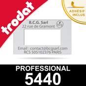 Empreinte pour dateur Trodat Professional 5440