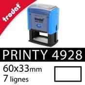 Tampon encreur Trodat Printy 4928 - 60x33mm
