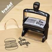 Tampon personnalisé pour sacs Kraft papier